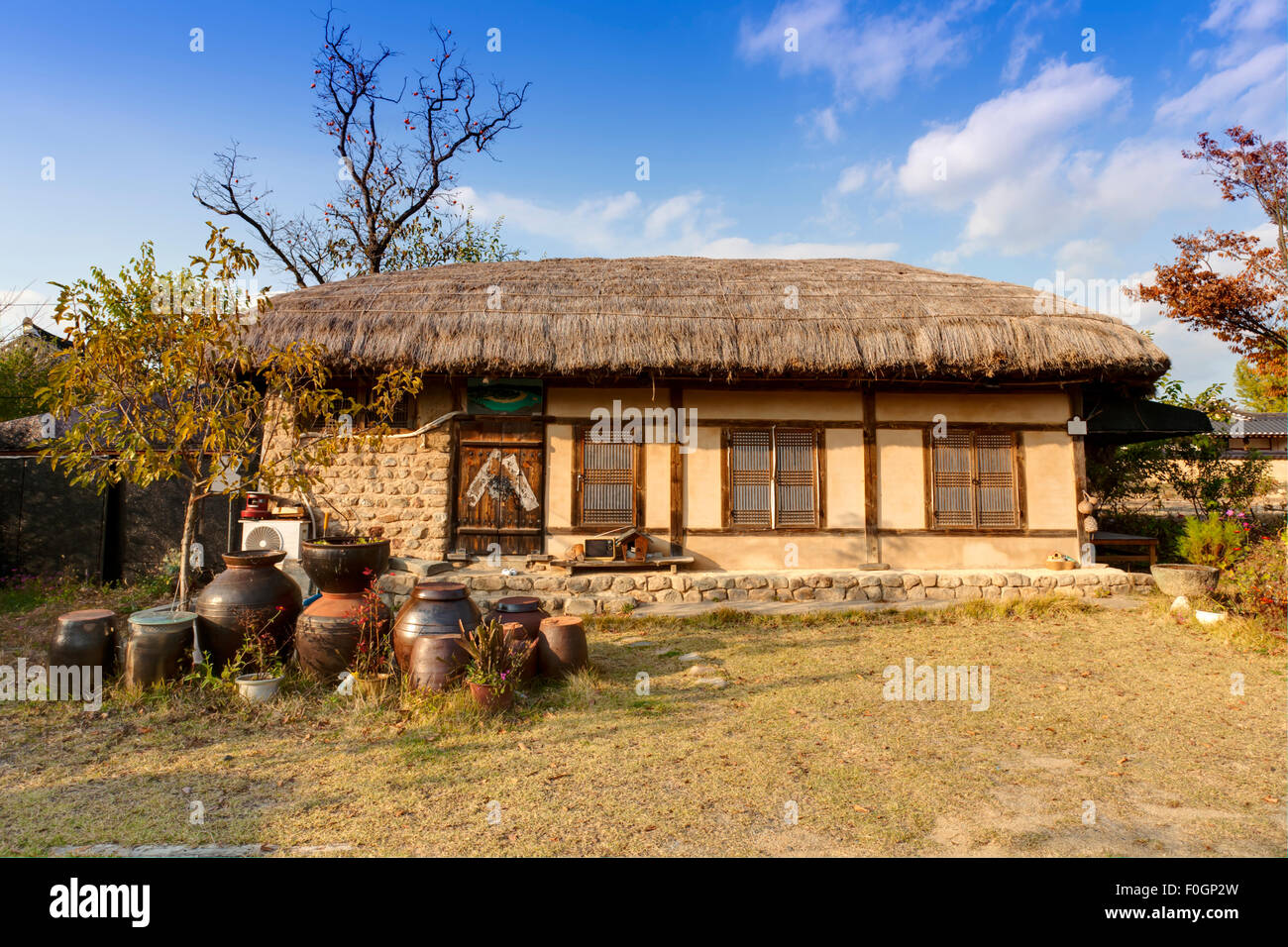 Traditional Korean House , Andong, South Korea