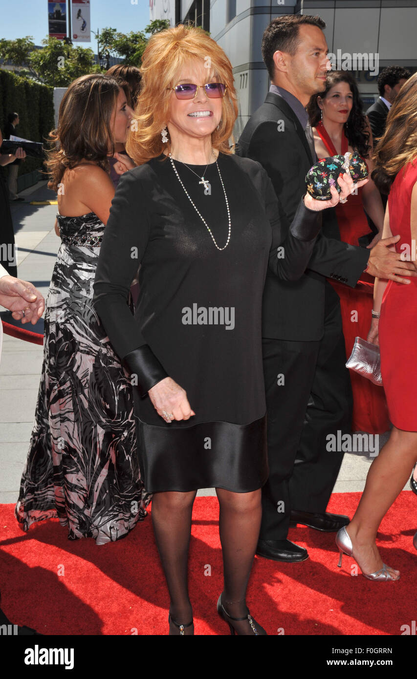 LOS ANGELES, CA - AUGUST 21, 2010: Ann-Margret at the 2010 Creative Arts Emmy Awards at the Nokia Theatre L.A. Live. - Stock Image