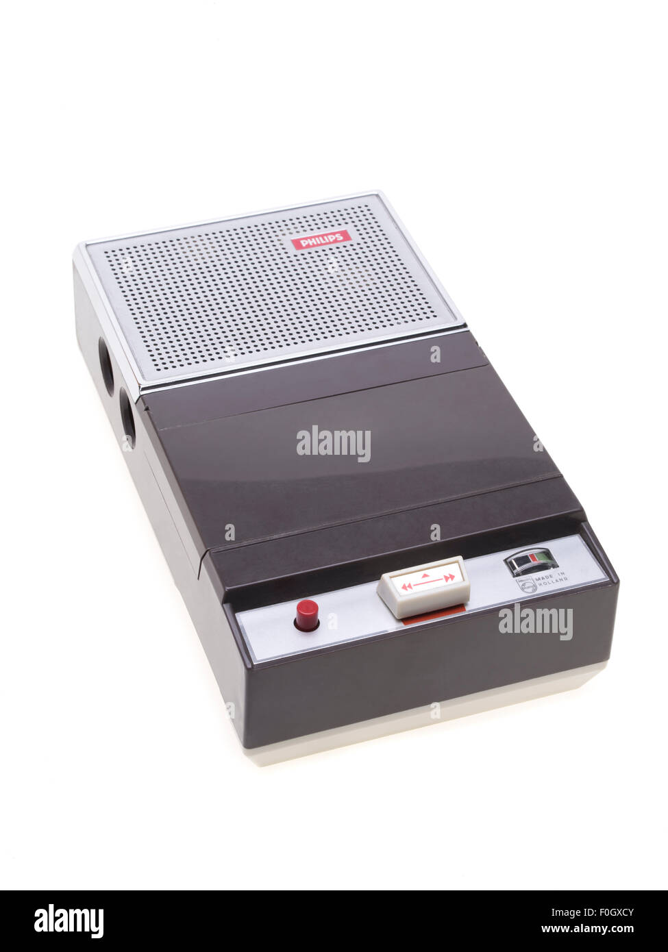 PHILIPS EL3300/00 The first Compact Cassette player/recorder in the World 1963 / 1964 - Stock Image