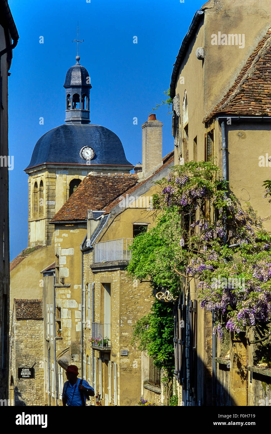 Vezelay. Burgundy. France Stock Photo