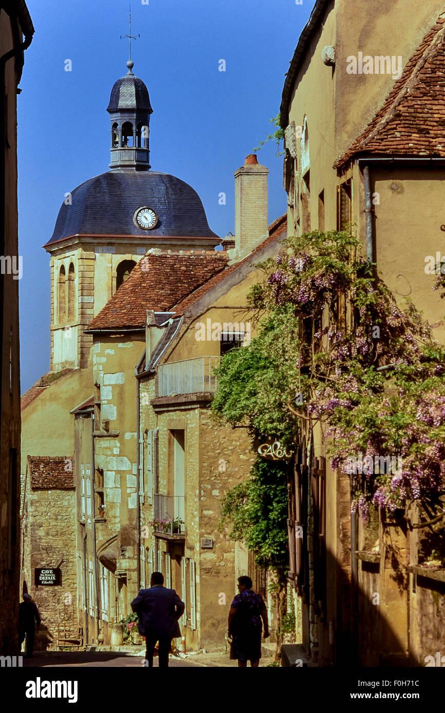 Vezelay. Burgundy. France - Stock Image