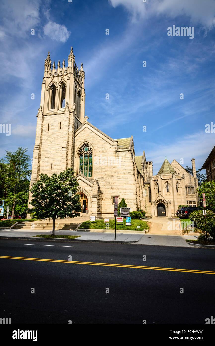 Swedenborgian Church of the Holy City 1611 16th Street NW Stock Photo -  Alamy