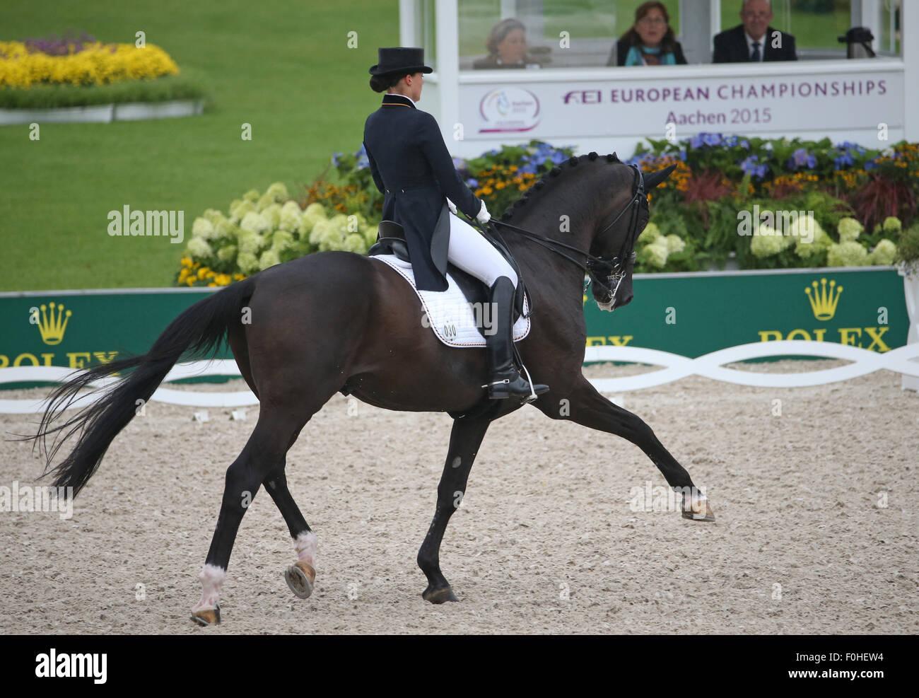 Kristina Broering Sprehe Of Germany Rides Her Horse Desperados In The Stock Photo 86436704 Alamy