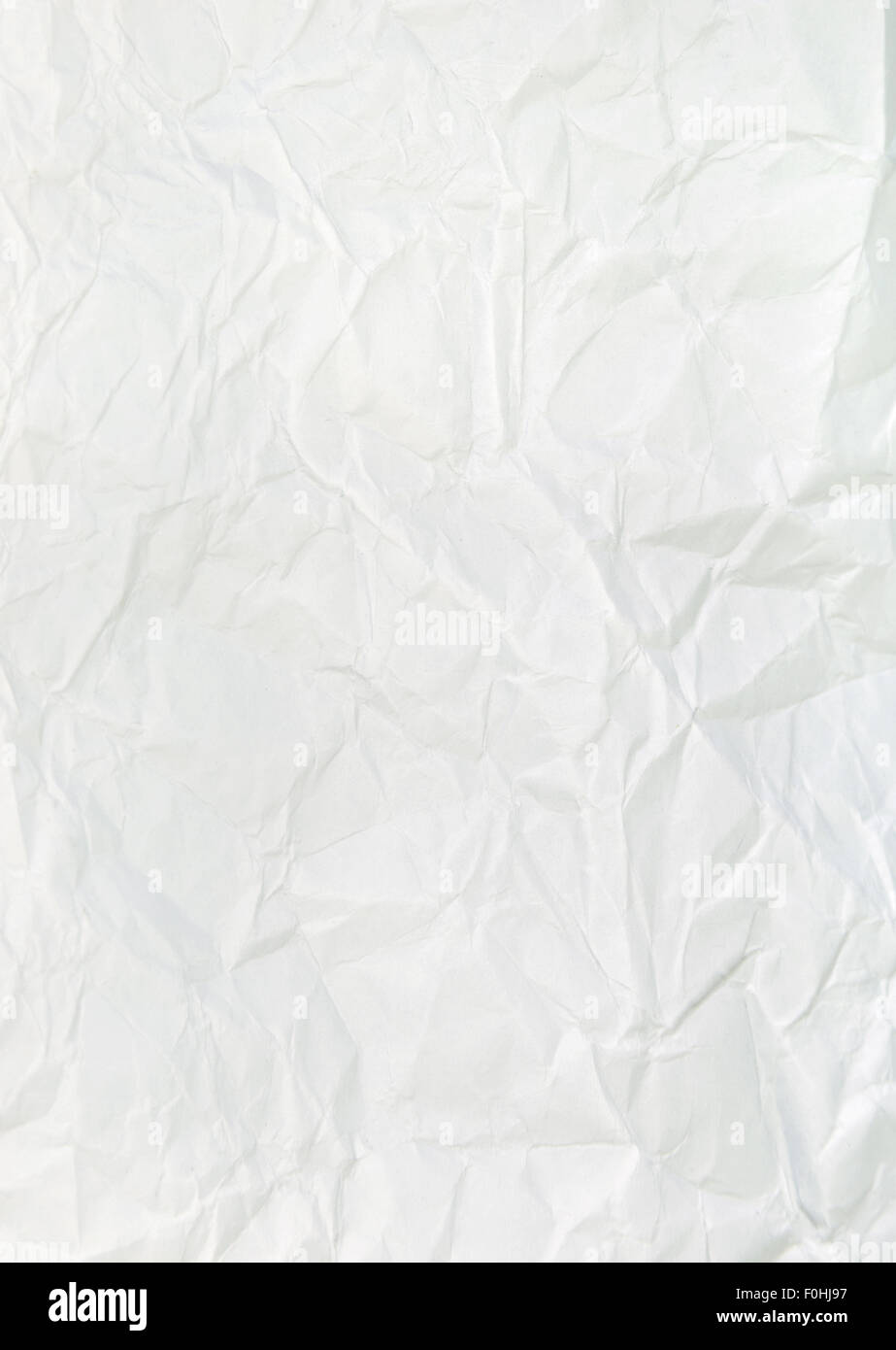 Paper texture. White paper sheet - Stock Image