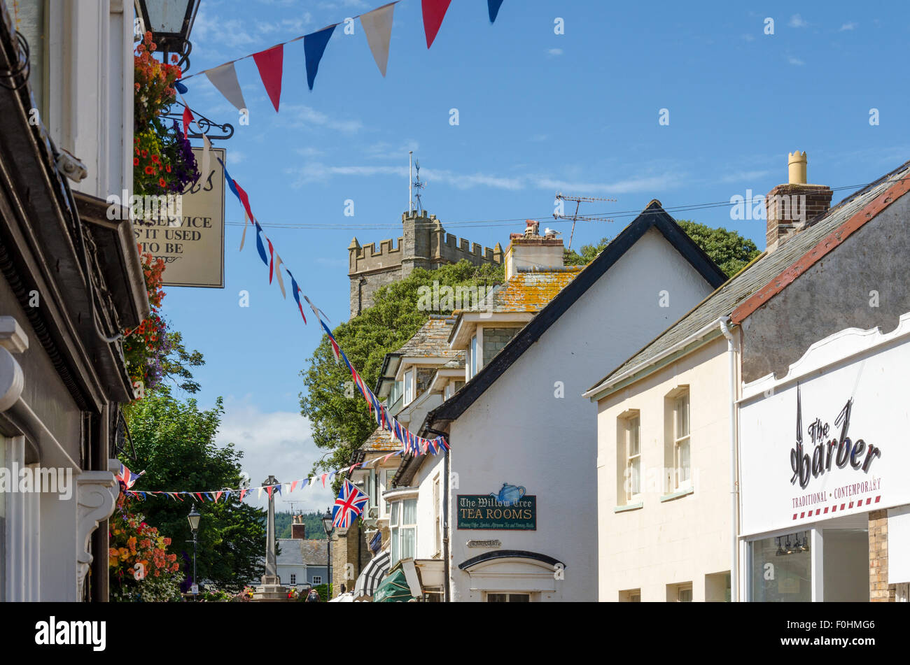 Sidmouth, Devon, UK - Stock Image