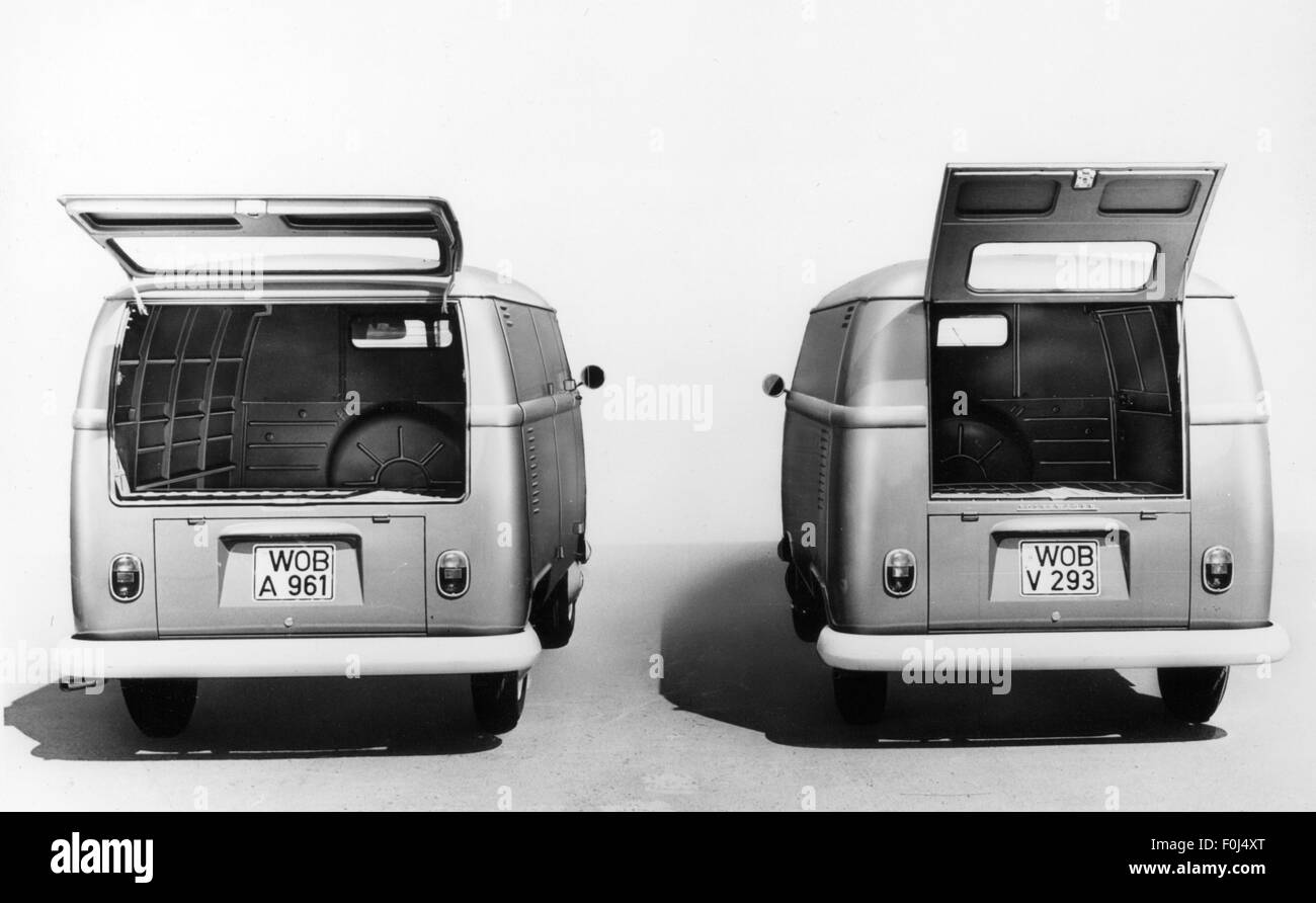 transport / transportation, car, vehicle variants, Volkswagen, VW T2 van, 1970s, Additional-Rights-Clearences-NA - Stock Image