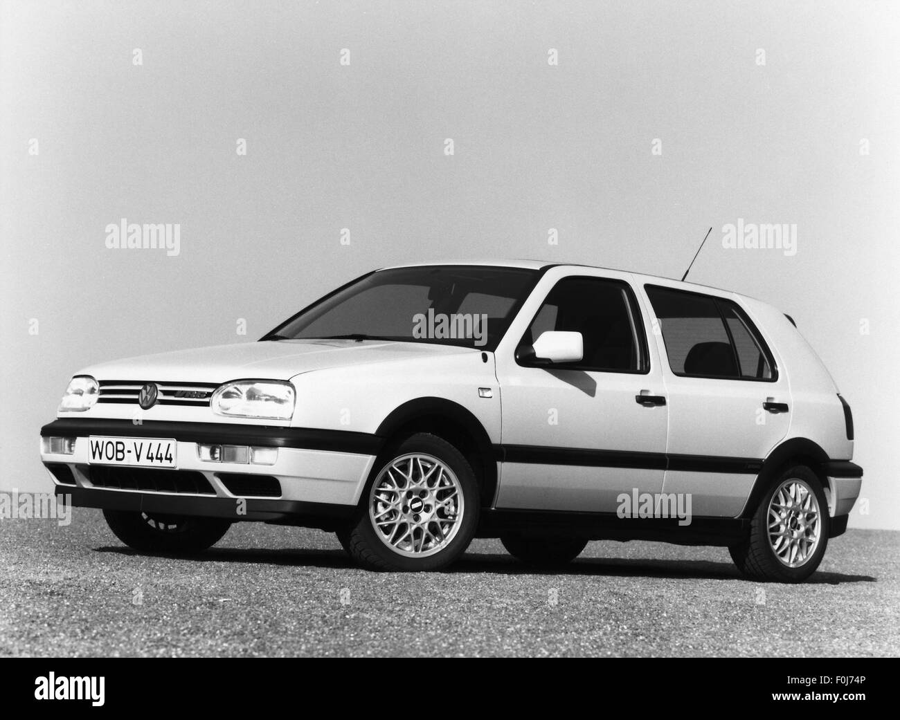 transport / transportation, car, vehicle variants, Volkswagen, VW Golf Mk3 VR6, 1990s, Additional-Rights-Clearences Stock Photo