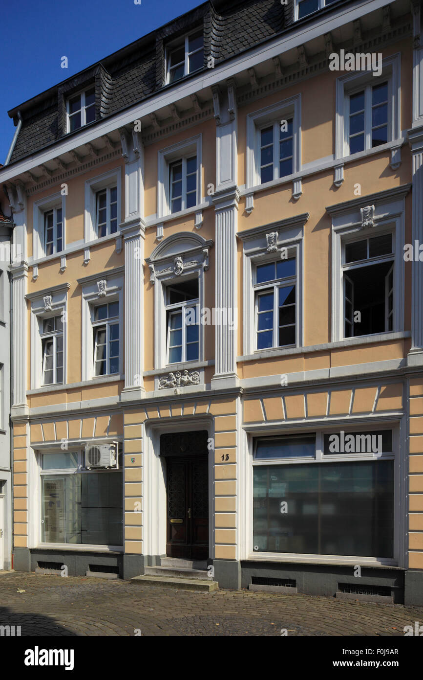 Wohnhaus und Geschaeftshaus An Sankt Marien 13 in Kempen, Niederrhein, Nordrhein-Westfalen Stock Photo