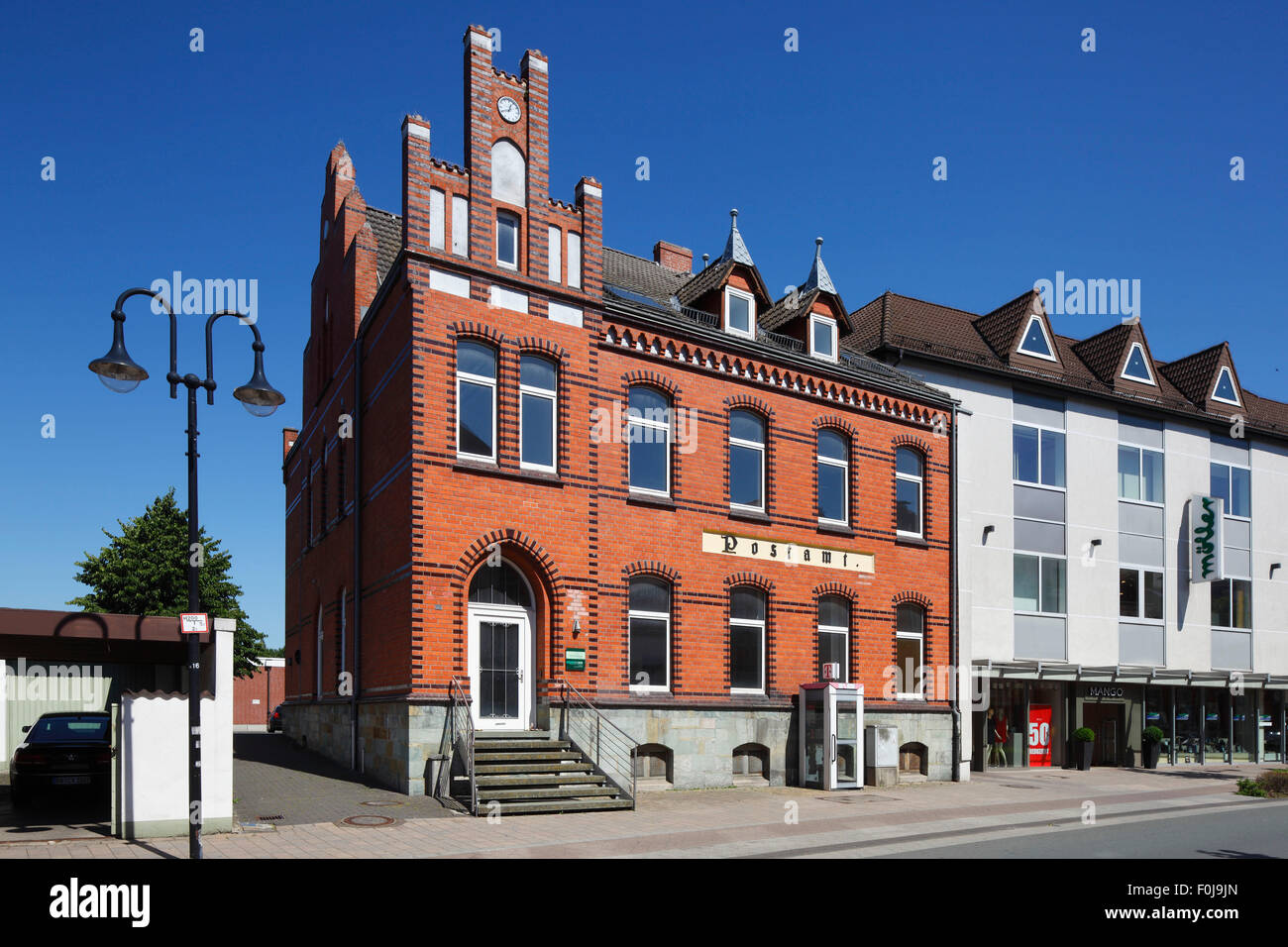 Postamt in Salzkotten, Nordrhein-Westfalen Stock Photo
