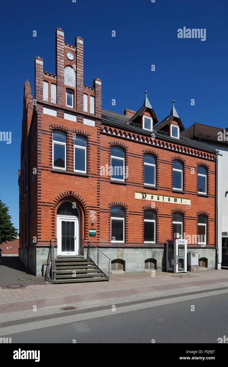 Postamt in Salzkotten, Nordrhein-Westfalen Stock Photo