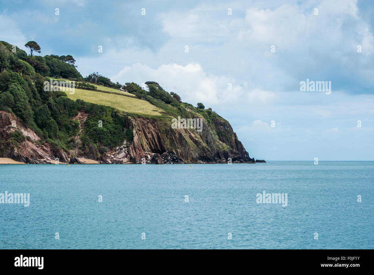Blackpool Sands, Dartmouth, Devon, South Coast, United Kingdom - Stock Image