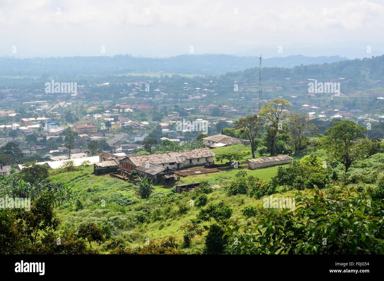 Buea, Cameroon - Stock Image
