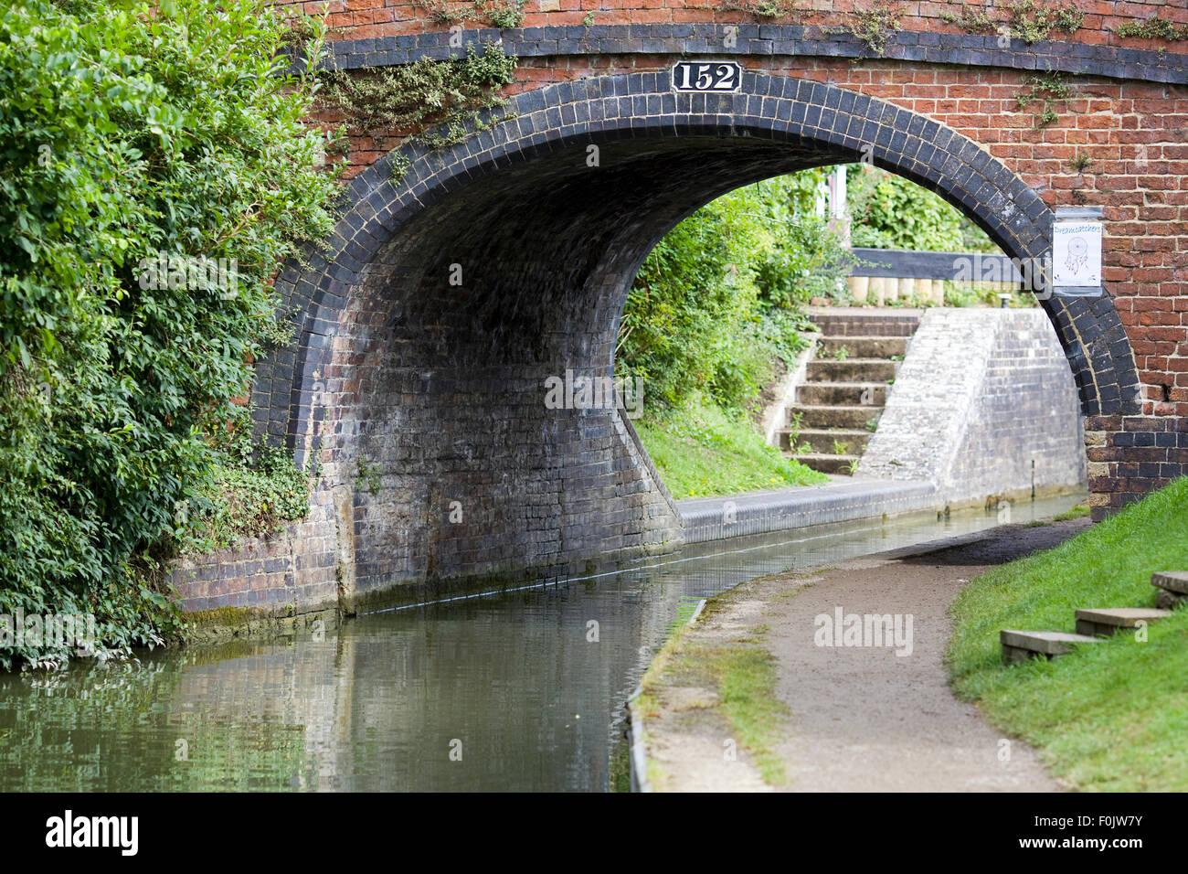 Cropredy Lock Bridge No 152 - Stock Image