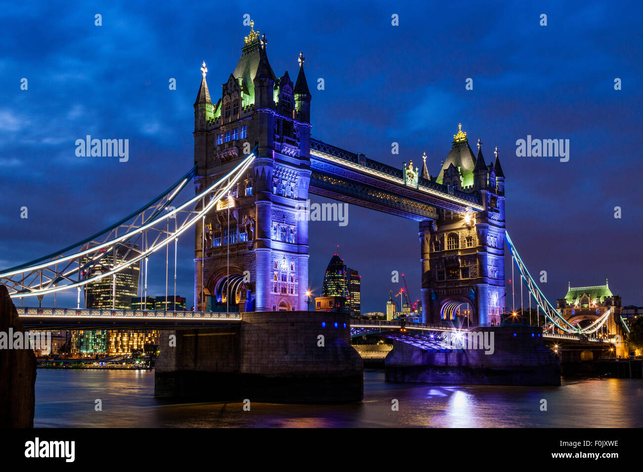 Tower Bridge, London, England - Stock Image