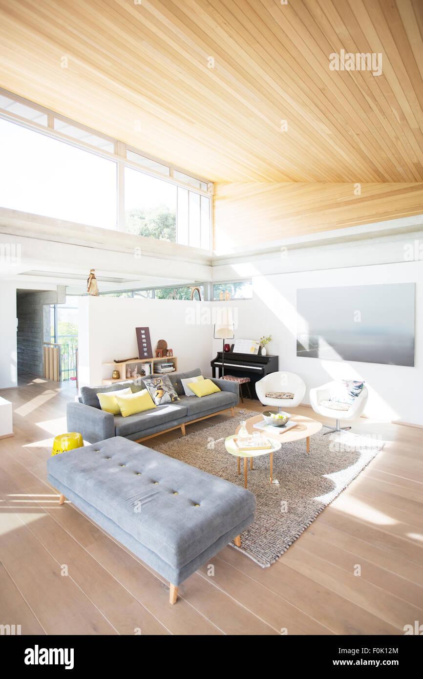 Modern home showcase living room Stock Photo: 86469788 - Alamy
