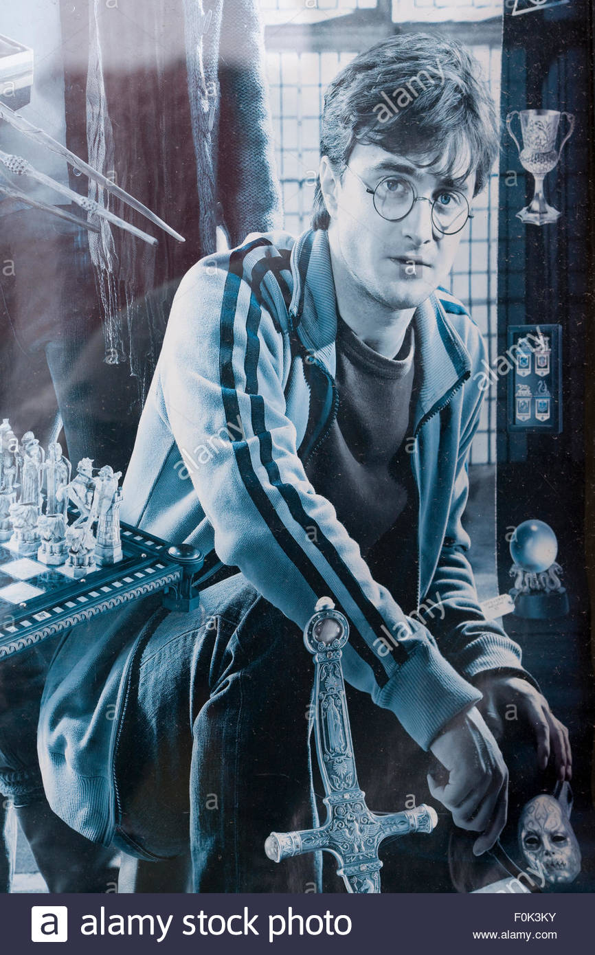 Harry Potter poster - Stock Image