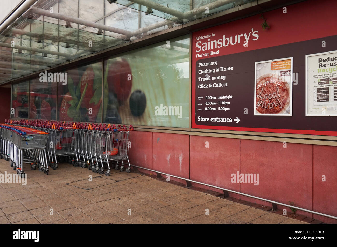 Food Store In Finchley Central