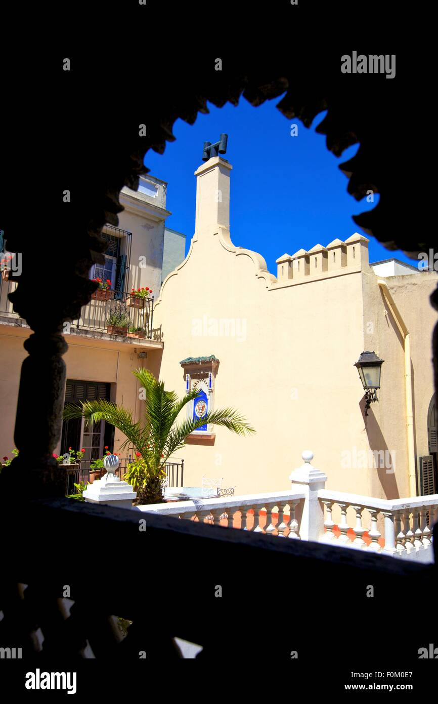 American Legation, Tangier, Morocco, North Africa - Stock Image