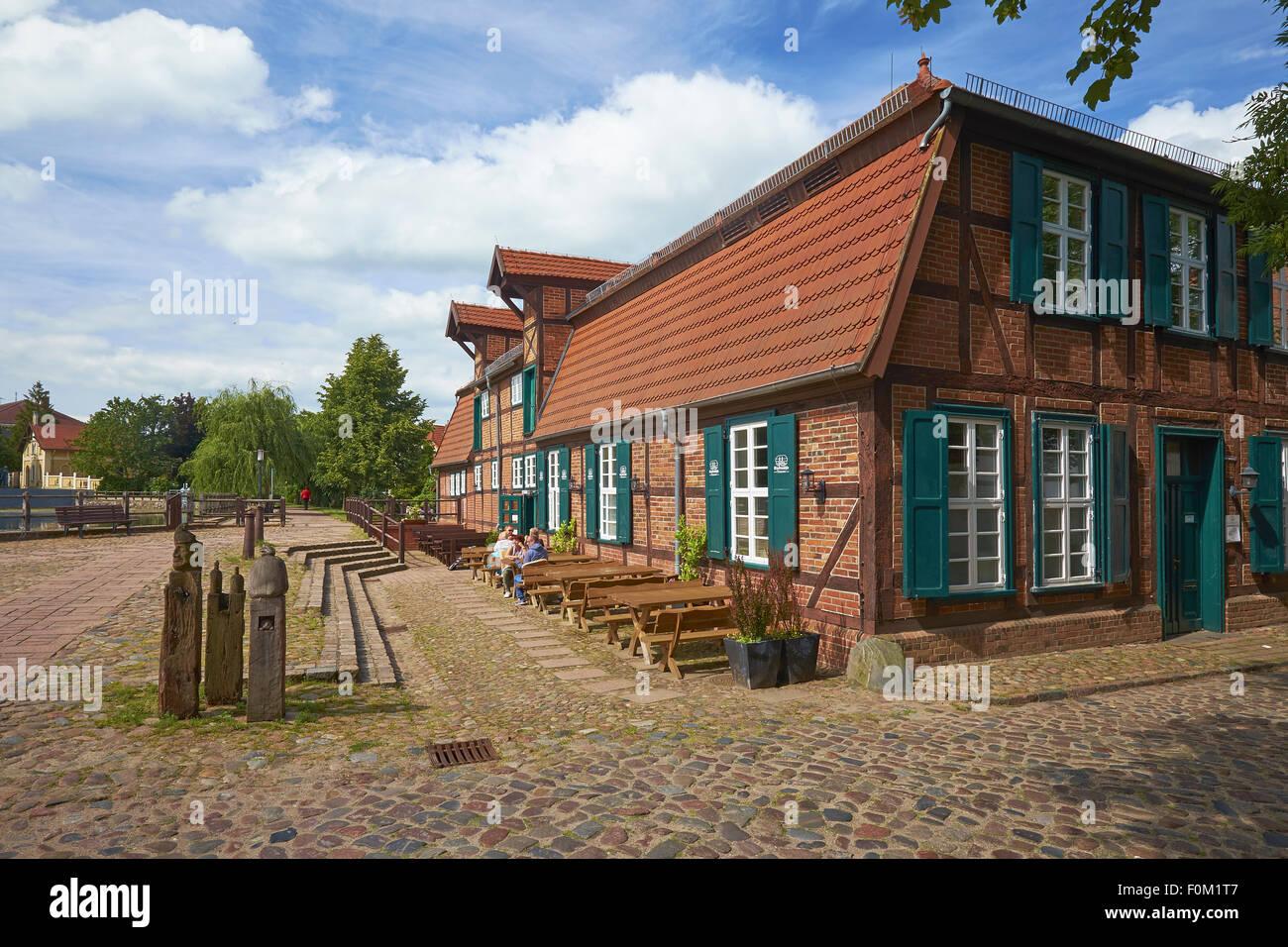 Town Mill in Teterow, Mecklenburg Western Pomerania, Germany Stock Photo