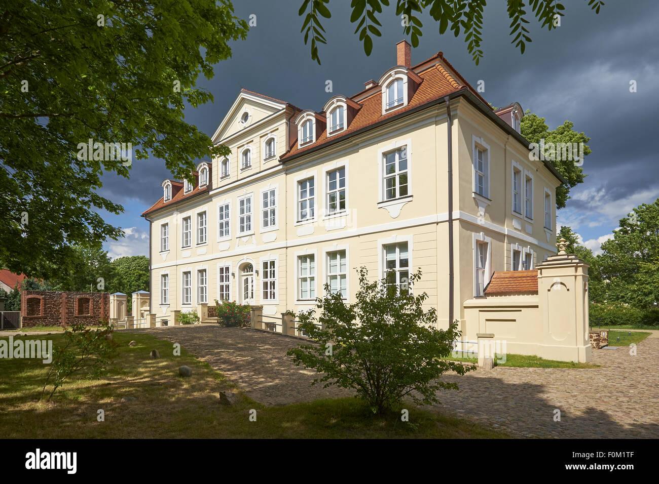 Grube castle, Grube/Bad Wilsnack, Prignitz, Brandenburg, Germany - Stock Image