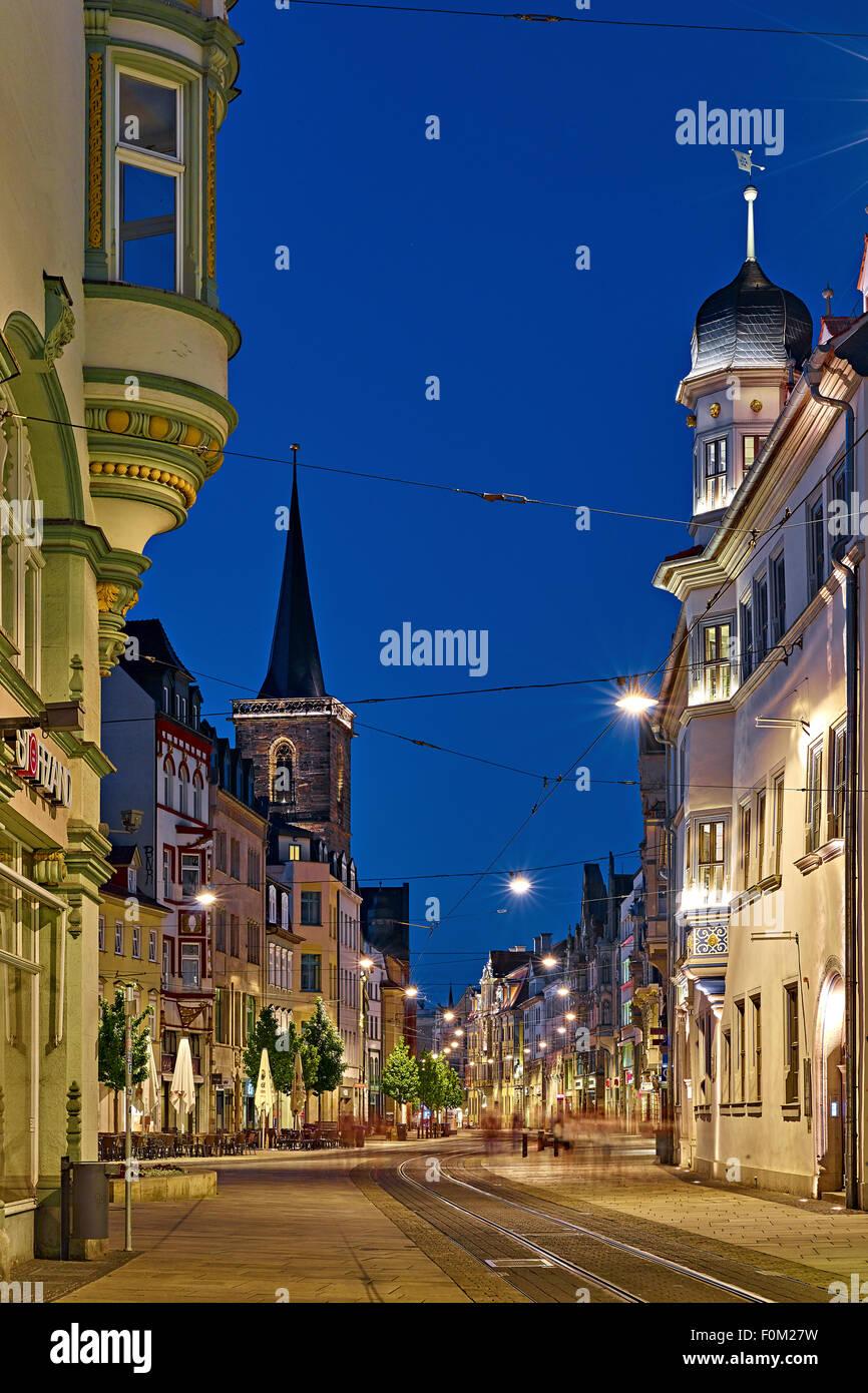 Anger, Erfurt, Germany - Stock Image