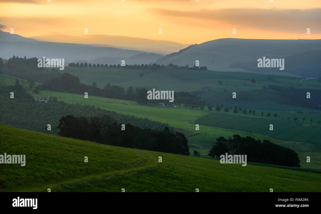 Midlands Meander, Kwazulu Natal, South Africa Stock Photo