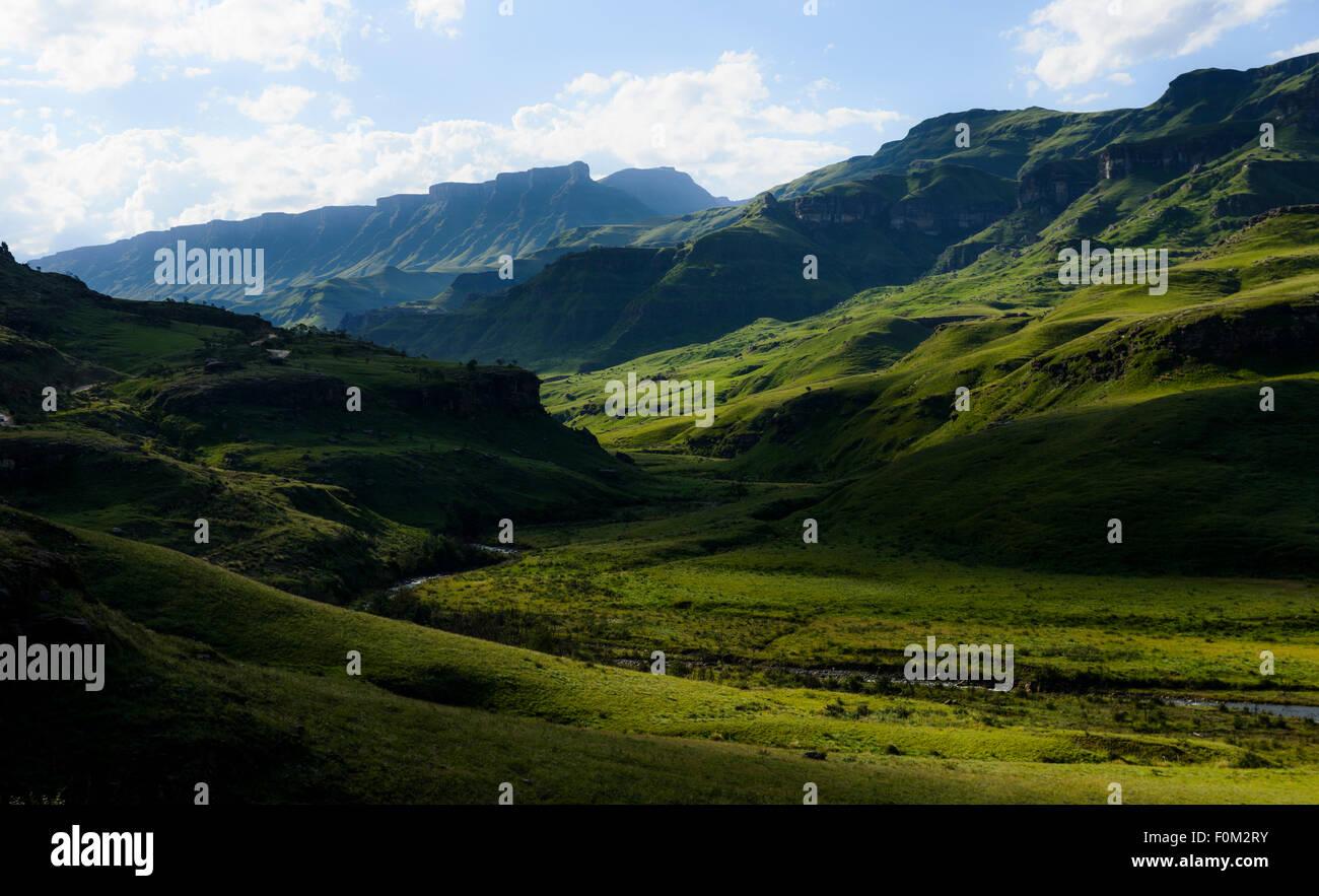 Drakensberg range, Kwazulu Natal, South Africa - Stock Image