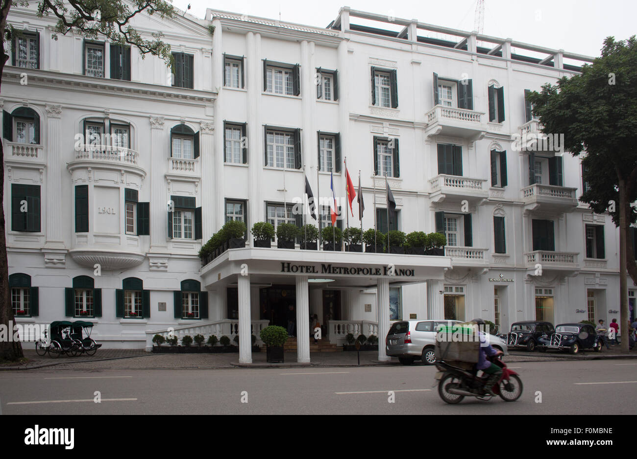 hotel metropole Hanoi - Stock Image
