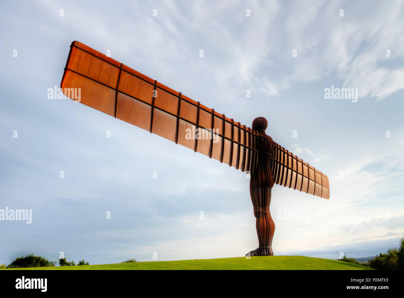 The Angel of the North, Gateshead, Tyne and Wear, UK - Stock Image