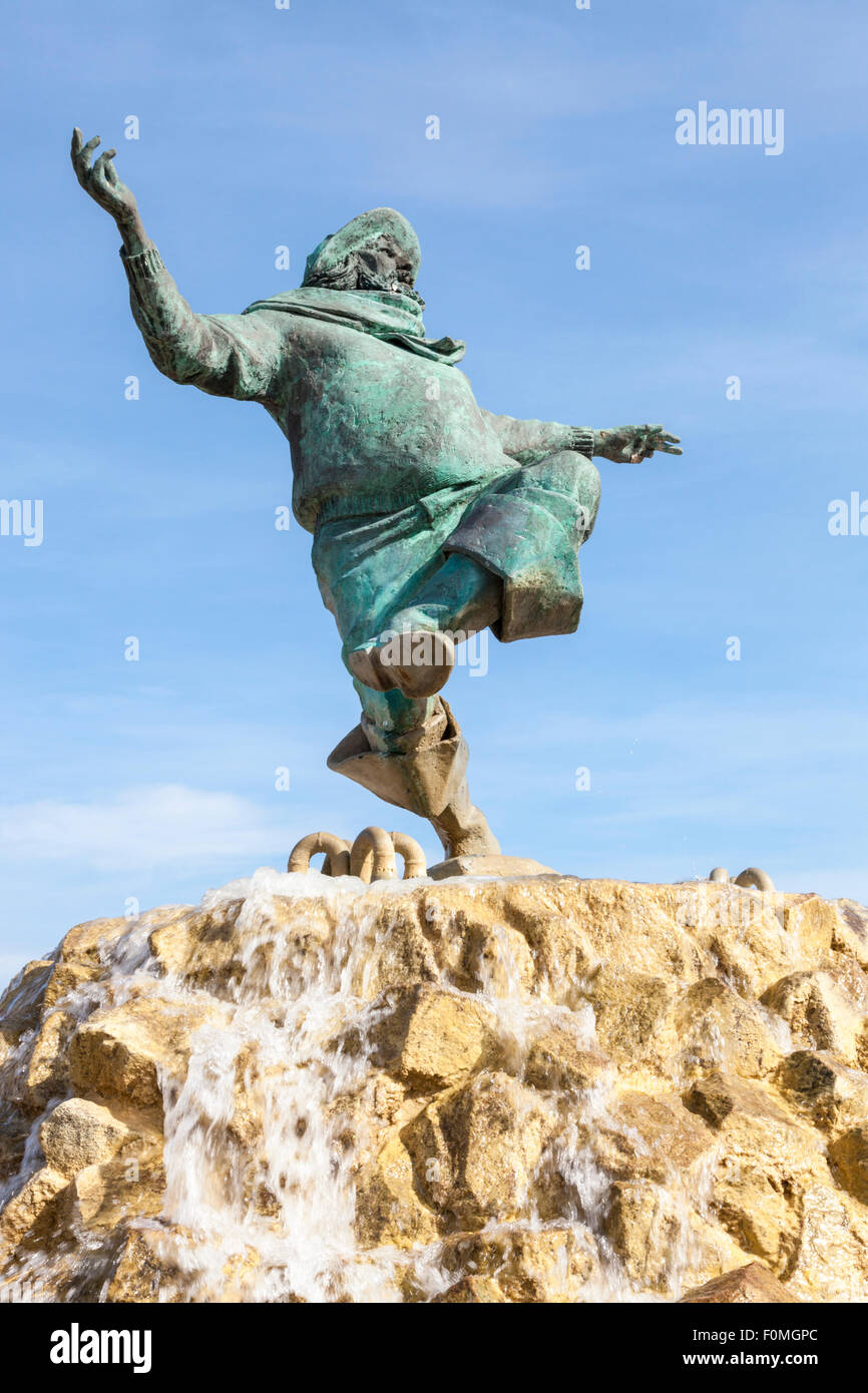 The Jolly Fisherman, Skegness, Lincolnshire, England, UK Stock Photo