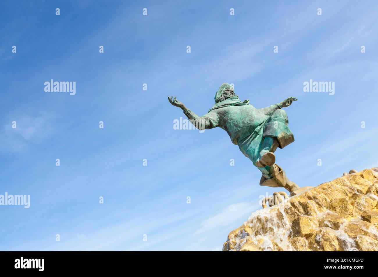 The Jolly Fisherman, Skegness, Lincolnshire, England, UK - Stock Image