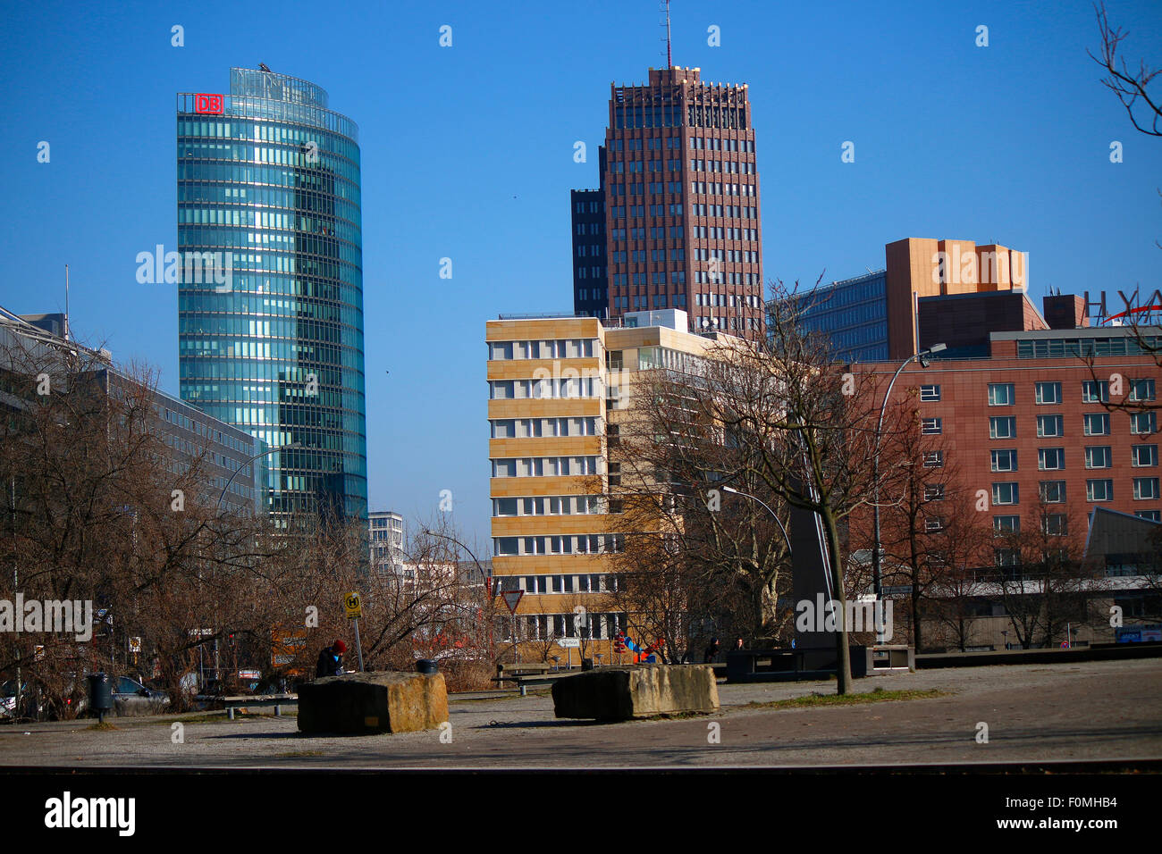 Potsdamer Platz, Berlin-Tiergarten. - Stock Image