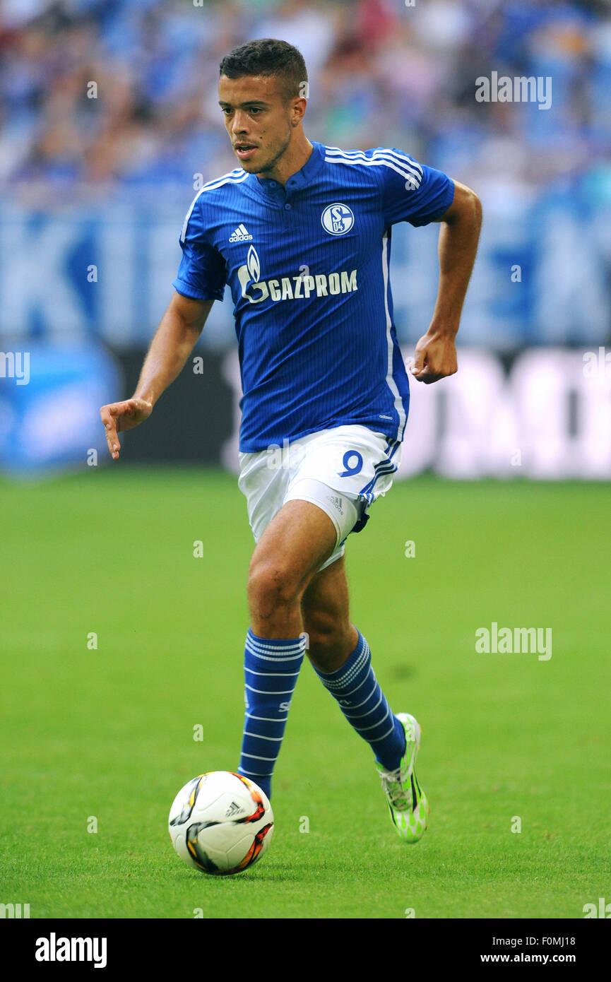 Football, Soccer, Germany, Bundesliga, Season 2015/2016, Veltins Arena; FC Schalke 04: Franco Di Santo (S04). - Stock Image