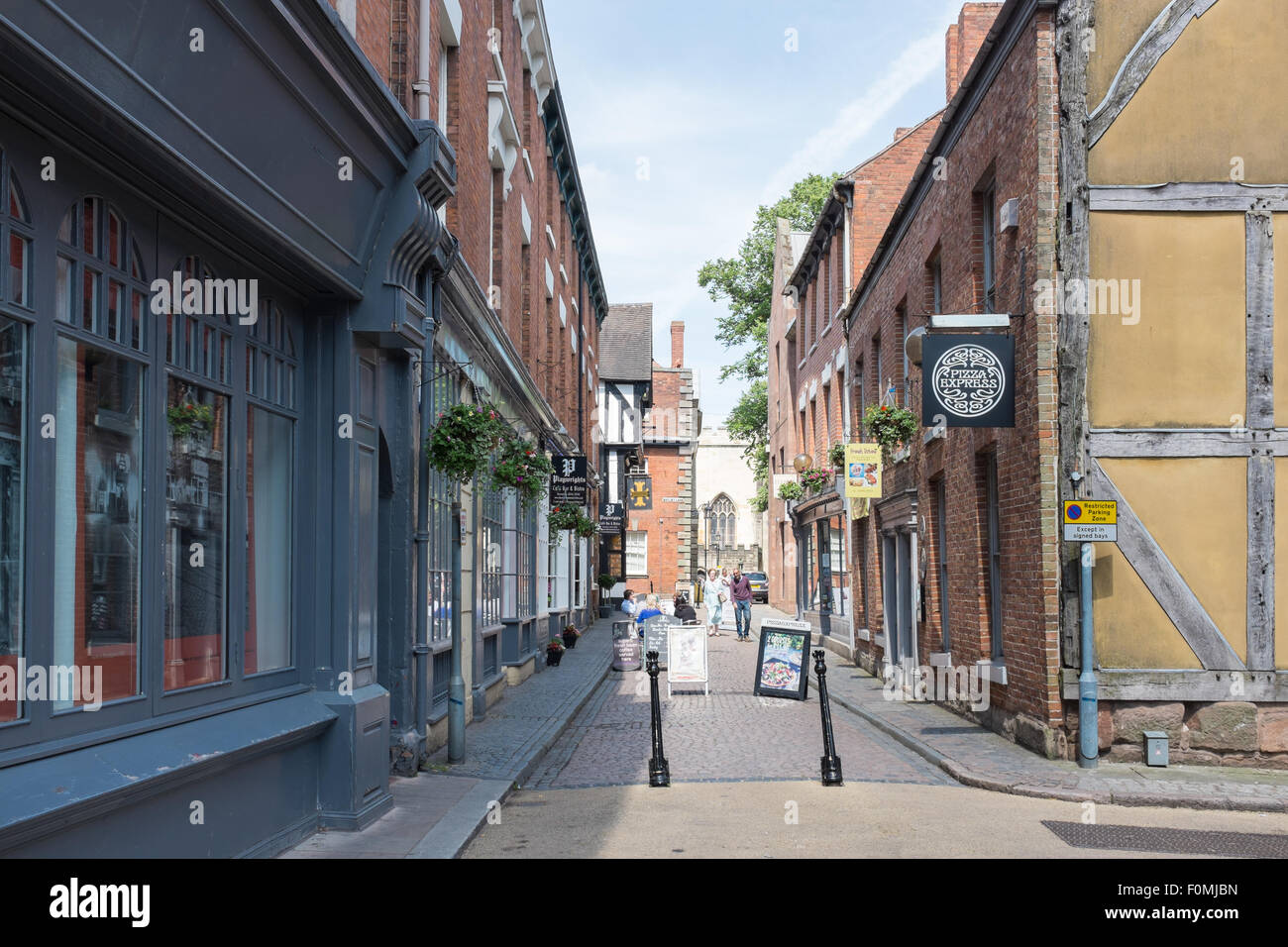 Hay Lane in the centre of Coventry - Stock Image