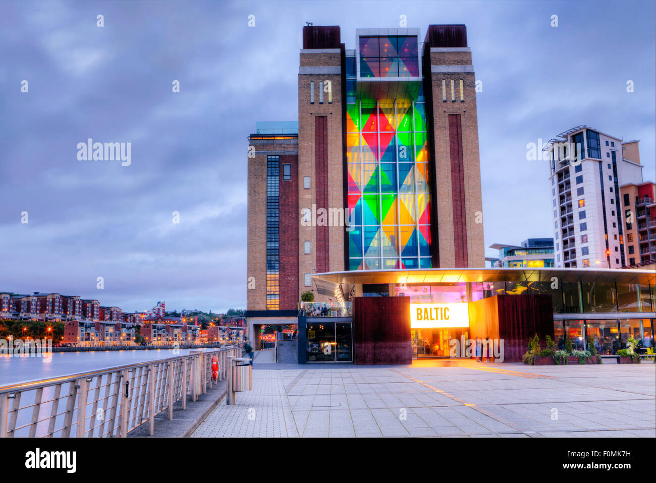 The Baltic Centre for Contemporary Art in Gateshead, Tyne and Wear, England - Stock Image