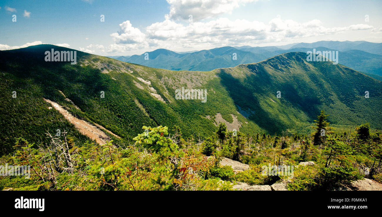Bonds summits in the White Mountains, New Hampshire. - Stock Image