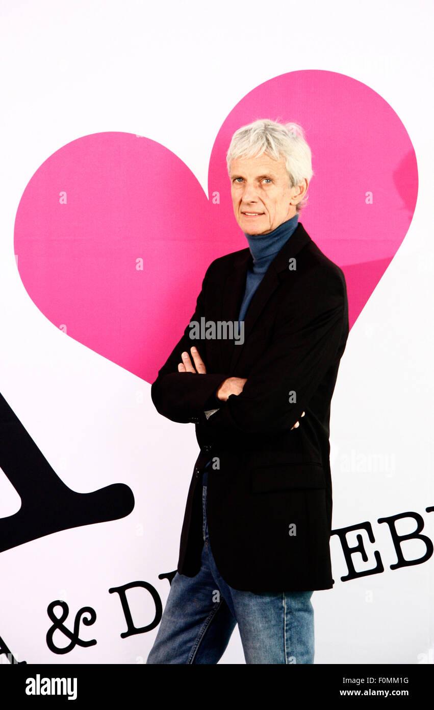 Mathieu Carriere - Fototermin anlaesslich des Starts der TV-Serie/ Telenovela 'Anna und die Liebe' (SAT1) - Stock Image