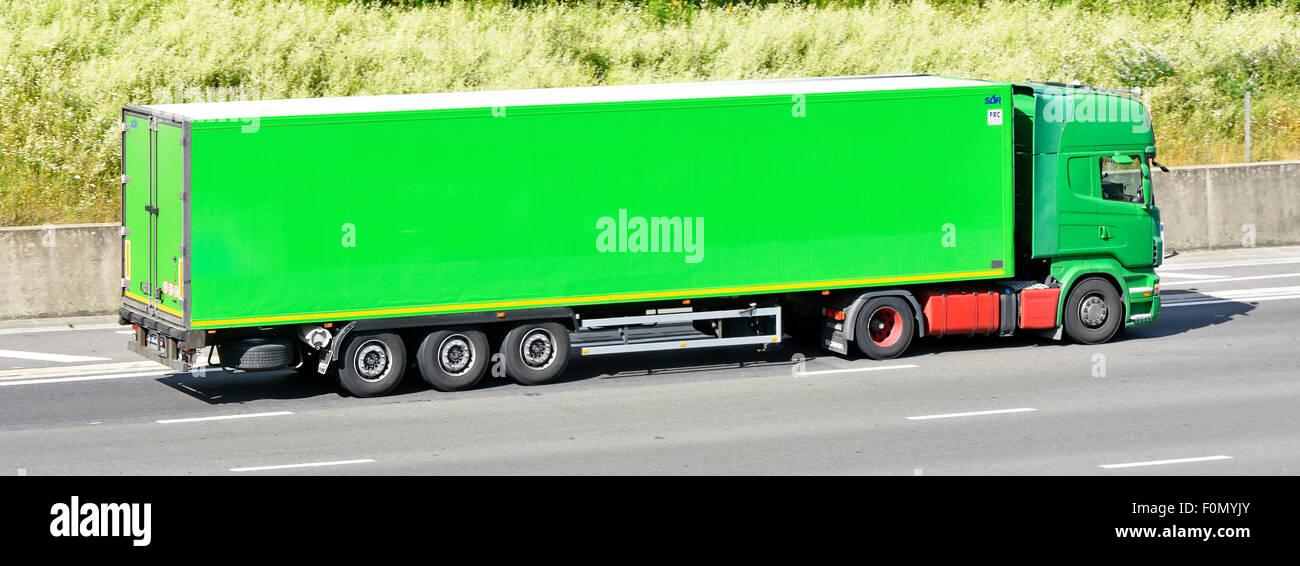 Green Lorry Side Stock Photos & Green Lorry Side Stock Images - Alamy