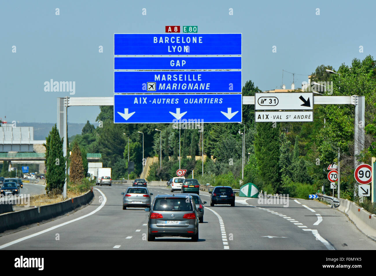 motorway gantry sign stock photos motorway gantry sign. Black Bedroom Furniture Sets. Home Design Ideas
