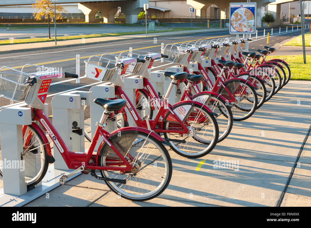 Self Service Bikes Stock Photos Amp Self Service Bikes Stock