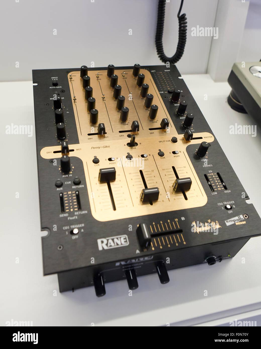 Rane Empath Mixer, Grand Master Flash model, circa 2003 - USA - Stock Image