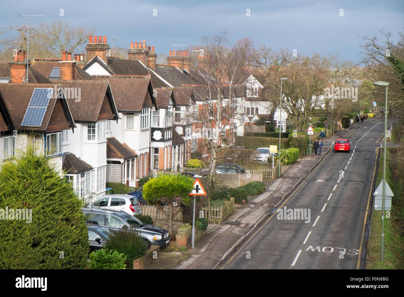 Surrey suburbs
