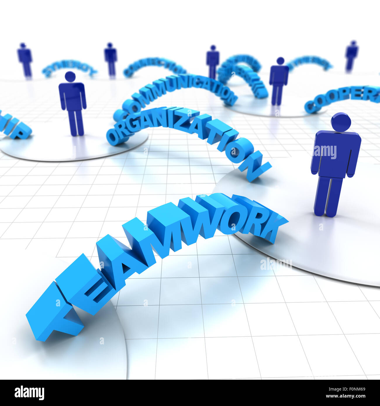 Business teamwork - Stock Image