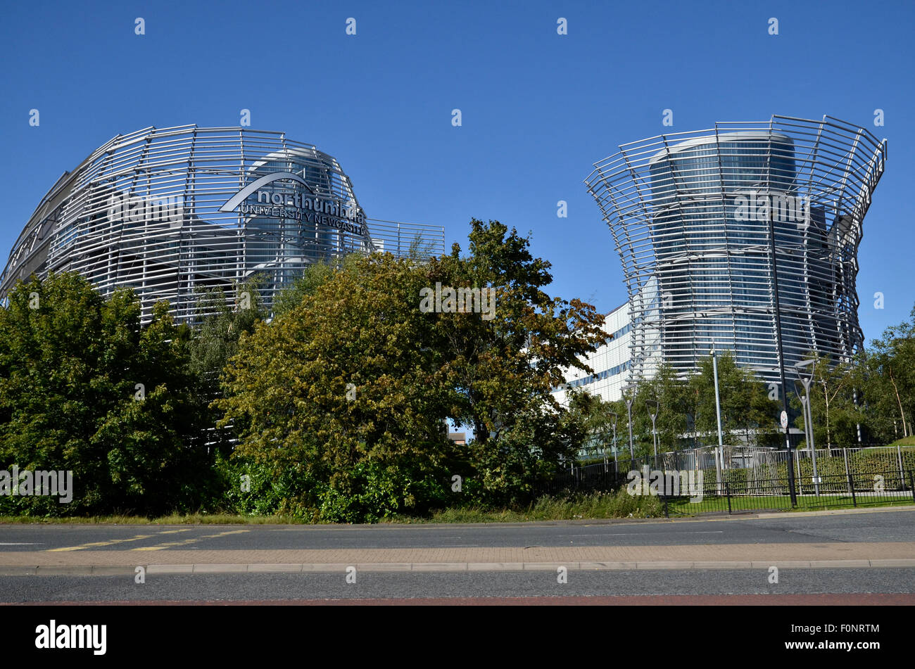 Northumbria University on City Road in Newcastle Upon Tyne - Stock Image