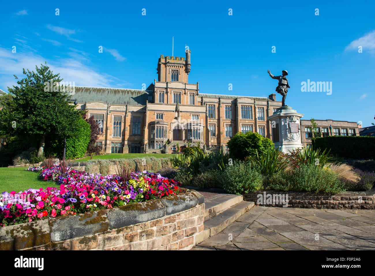 Nottingham high School, Nottinghamshire England UK - Stock Image