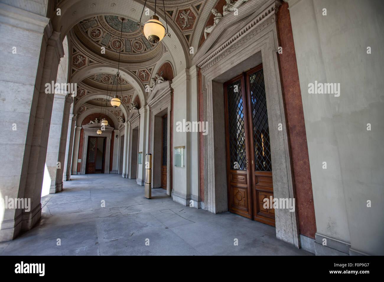 Stock Exchange in Vienna, Austria, Europe Stock Photo
