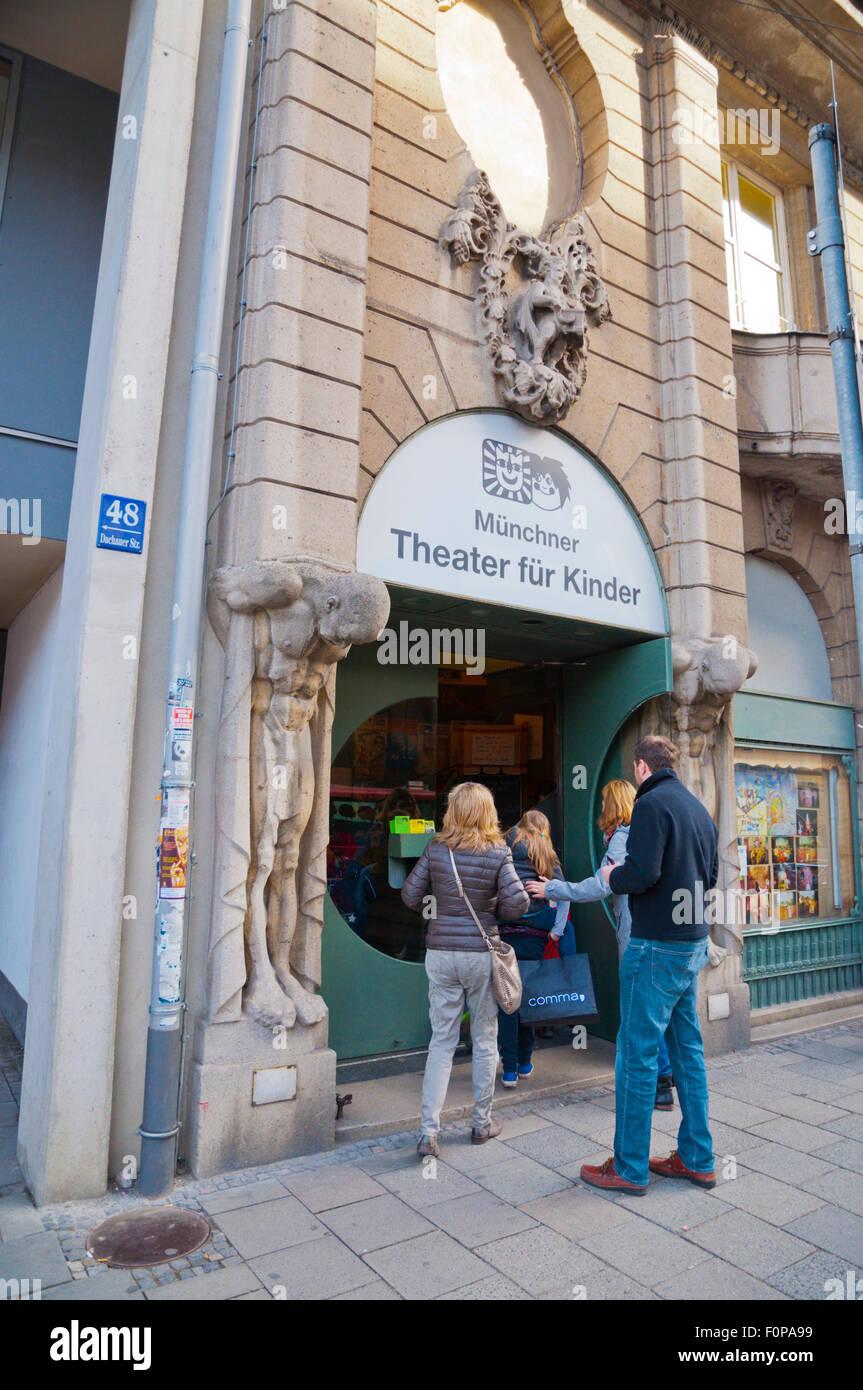 Munchner Theater Für Kinder Childrens Theatre Maxvorstadt Munich