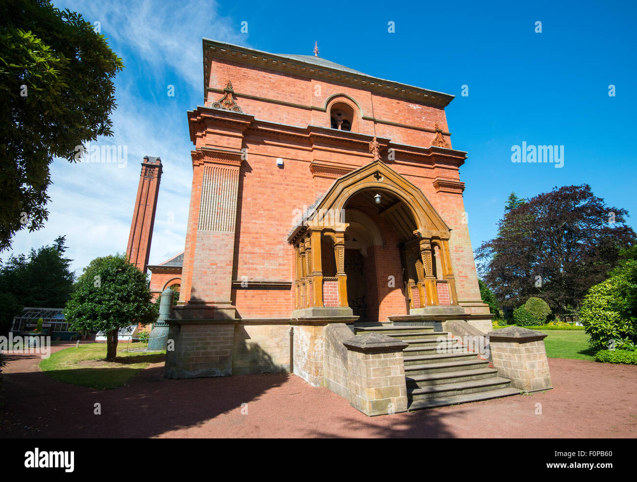 The Engine House at Papplewick Pumping Station, Nottinghamshire England UK - Stock Image