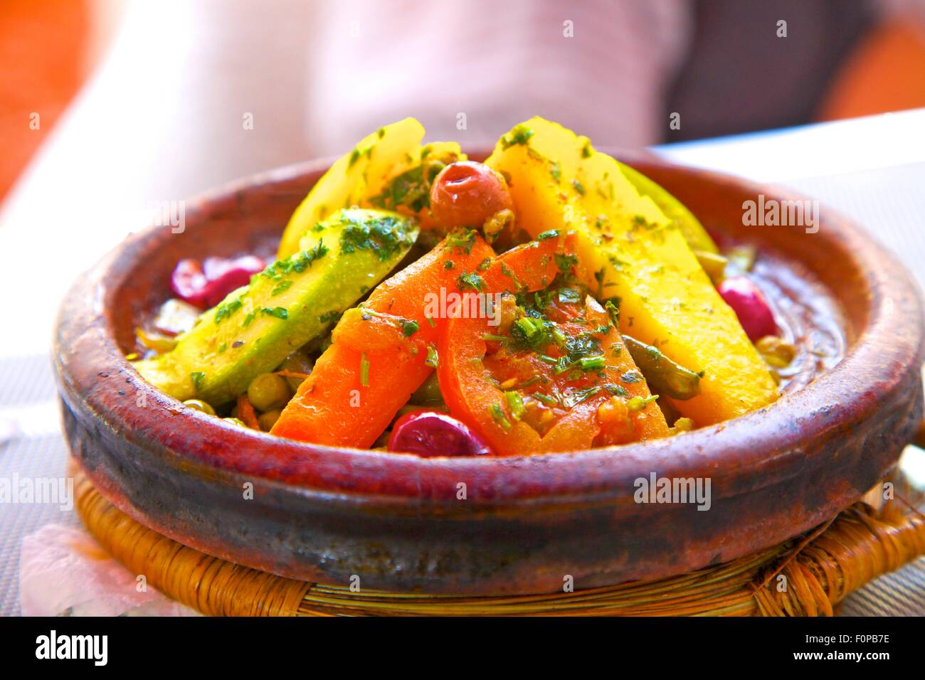 Moroccan food stock photos moroccan food stock images alamy vegetable tagine casablanca morocco north africa stock image forumfinder Gallery
