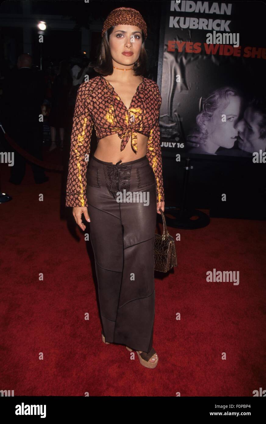 SALMA HAYEK at Eyes Wide Shut Westwood Ca. 1999.k16079lr. © Lisa Rose/Globe Photos/ZUMA Wire/ZUMA Wire/Alamy - Stock Image